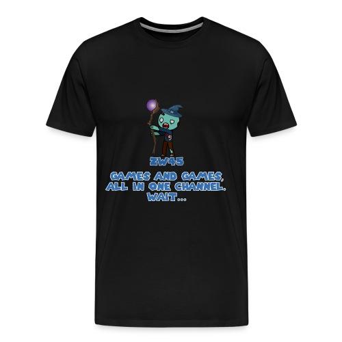 zombiewizard45 Logo T-Shirt - Men's Premium T-Shirt