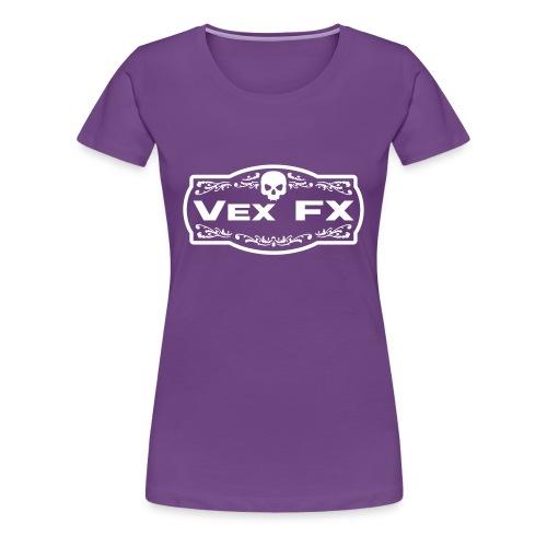 Women's Premium T - Purple & White - Women's Premium T-Shirt