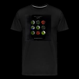 BlurryFeels Short Sleeve Black - Men's Premium T-Shirt