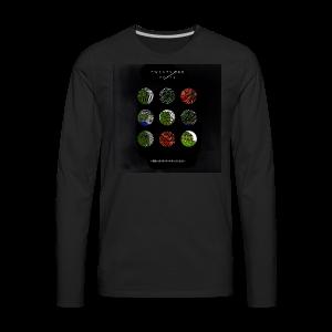 BlurryFeels Long Sleeve Black - Men's Premium Long Sleeve T-Shirt