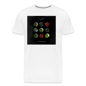 BlurryFeels Short Sleeve White - Men's Premium T-Shirt