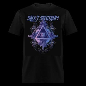 Silent Spectrum Pyrimid Shirt  - Men's T-Shirt