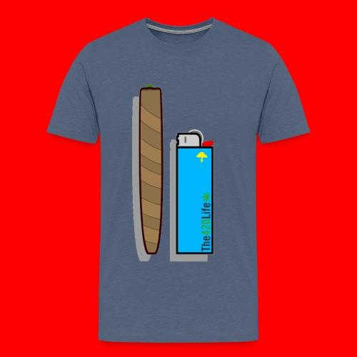 Blunt & Lighter  - Men's Premium T-Shirt