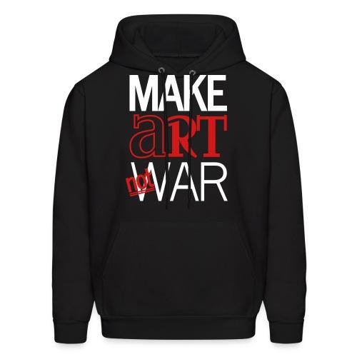 Make art not war - Men's Hoodie