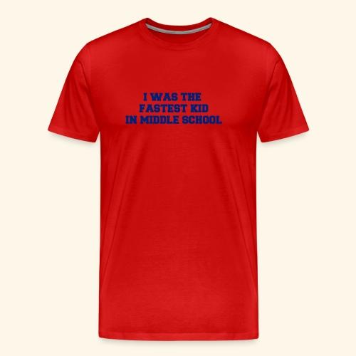 Fastest Kid - Men's Premium T-Shirt