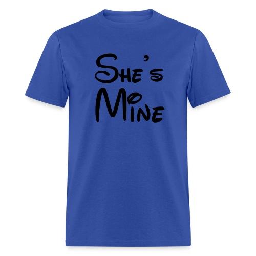 She's Mine - Men's T-Shirt