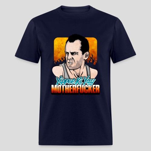 Die Hard: Yippee Ki Yay (Color) - Men's T-Shirt