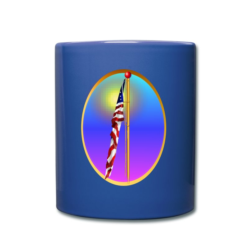 The Star Spangled Banner Oval - Full Color Mug