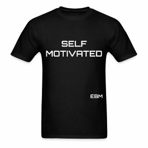 Stephanie Lahart Self-Motivated Black Males T-shirt. - Men's T-Shirt