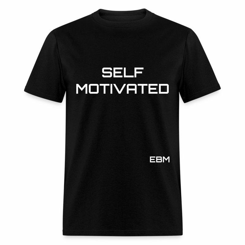 Self-Motivated Black Males Black Men's T-shirt Clothing by Stephanie Lahart. - Men's T-Shirt