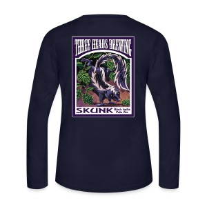 Skunk - White Logo - Women's Long Sleeve Jersey T-Shirt