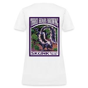Skunk - Black Logo - Women's T-Shirt