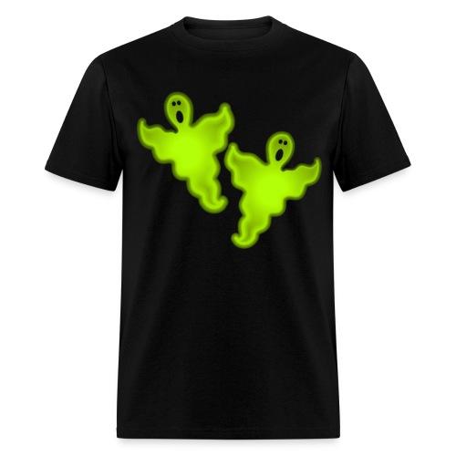 Glowing Ghosts - Men's T-Shirt