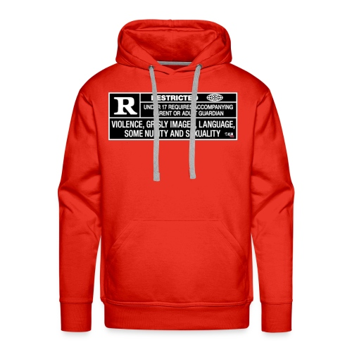 MENS TCB Films Rated R Hoody - Men's Premium Hoodie