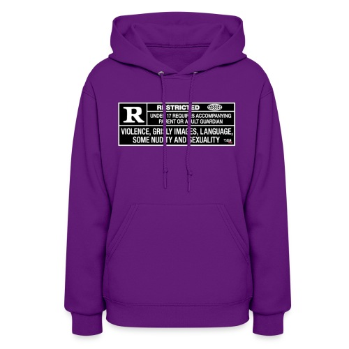 Womens TCB Films Rated R Hoody - Women's Hoodie