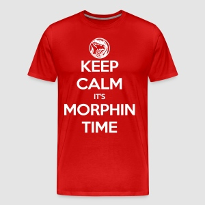 Keep Calm It's Morphin Time (Red) - Men's Premium T-Shirt