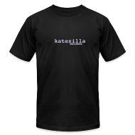 T-Shirts ~ Men's T-Shirt by American Apparel ~ katezilla