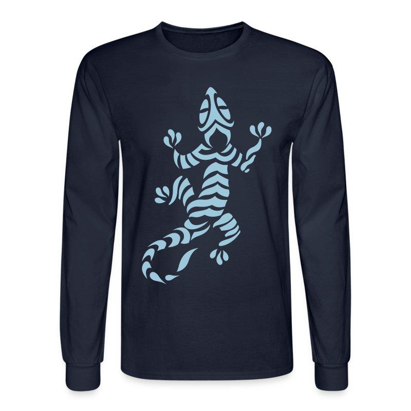 Lizard tribal tattoo 7 t shirt spreadshirt for Tribal tattoo shirt