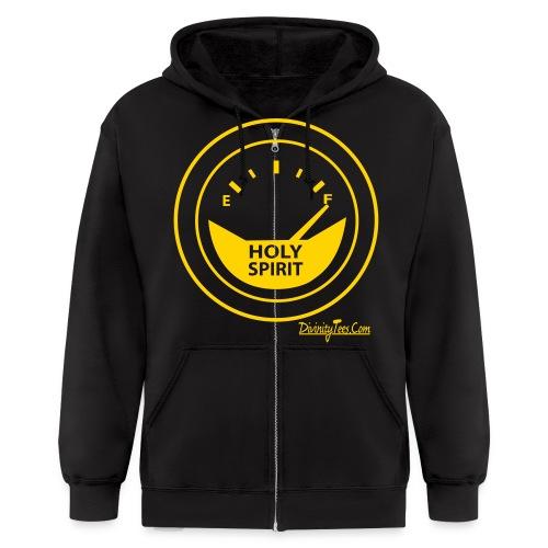 Holy Spirit is Full Design - Men's Zip Hoodie