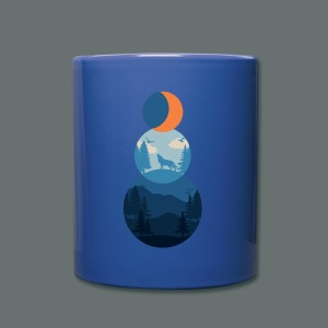 snowman land - Full Color Mug