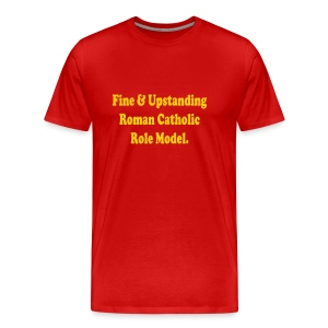 CATHOLIC ROLE MODEL - Men's Premium T-Shirt