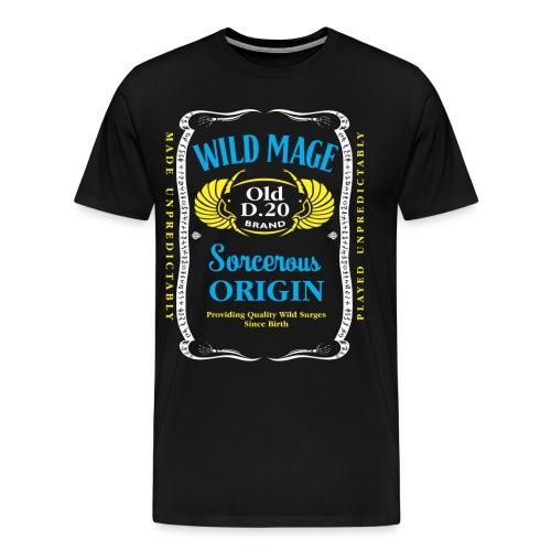 Wild Mage Men's Premium T-Shirt - Men's Premium T-Shirt