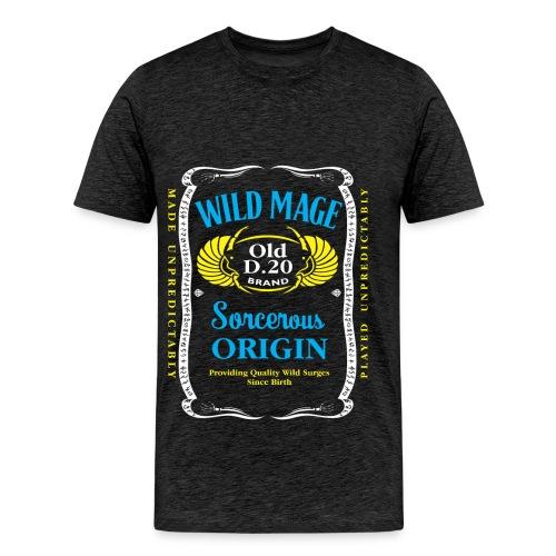 Wild Mage tricolor Men's Premium T-Shirt - Men's Premium T-Shirt