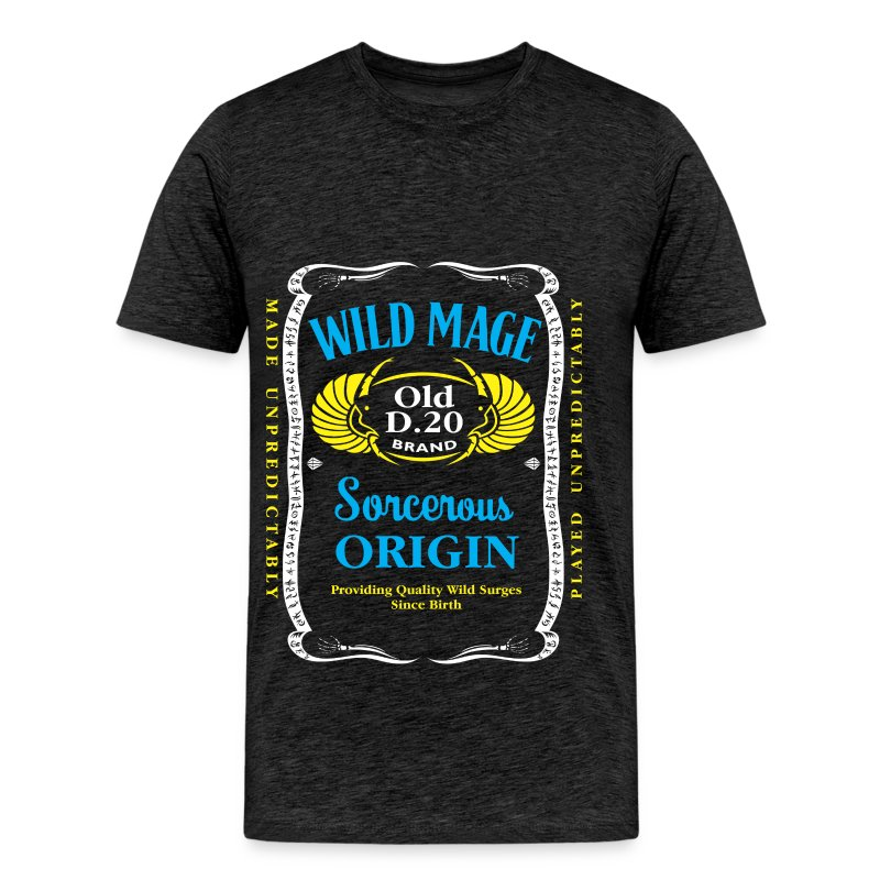 Wild Mage tricolor - Men's Premium T-Shirt