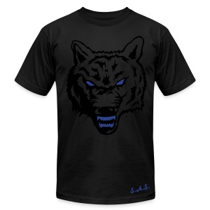 Wolf Mens T-Shirt - Men's T-Shirt by American Apparel