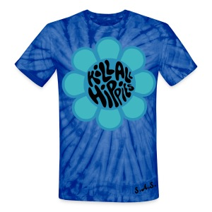Kill All Hippies Tye Dye T-Shirt - Unisex Tie Dye T-Shirt