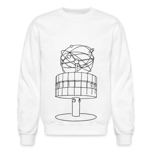 World time clock Berlin - Crewneck Sweatshirt