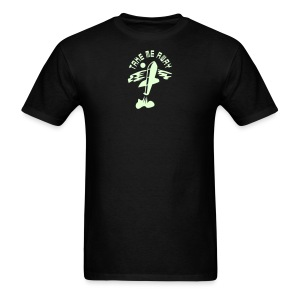 Take Me Away - glow in the dark - Men's T-Shirt