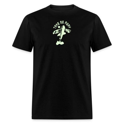 Take Me Away - glow in the dark - Men's T-Shirt