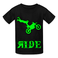 Kids' Shirts ~ Kids' T-Shirt ~ RIDE T-Shirt