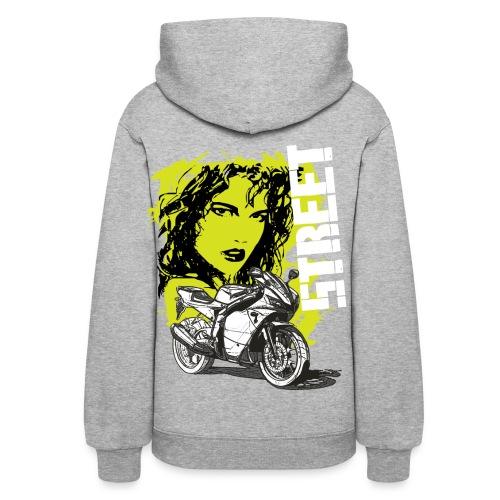 Street bike - Hoodie - Women's Hoodie