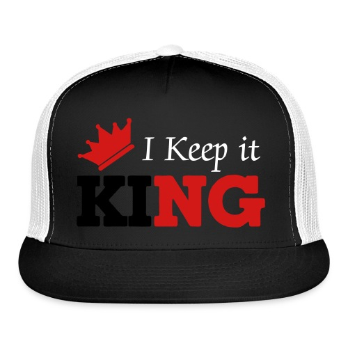 I Keep It King Snap Back - Trucker Cap