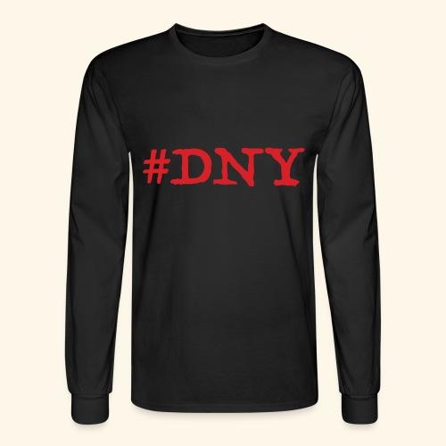 #DNY Black Long Sleeve Shirt. - Men's Long Sleeve T-Shirt