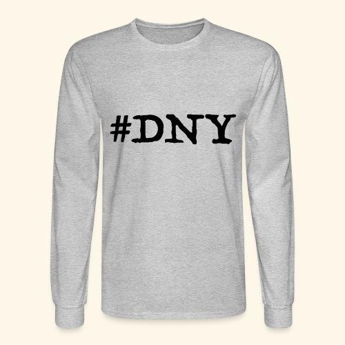 #DNY Gray Long Sleeve - Men's Long Sleeve T-Shirt