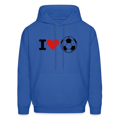 Men's Hoodie - well for some of our soccer fans her you have the best soccer sweater ever.