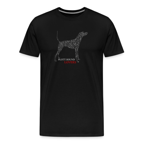 Plott Hound Lovers Tee - Men's Premium T-Shirt