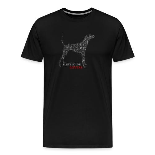 Plott Hound Lovers Tee - Men's Premium T-Shirt
