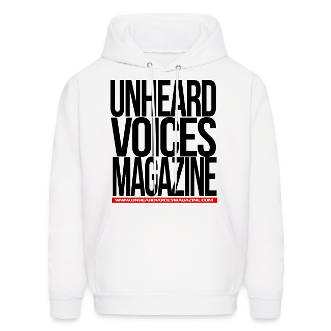 Unheard Voices Magazine Men's Hoodie (Various Colors)