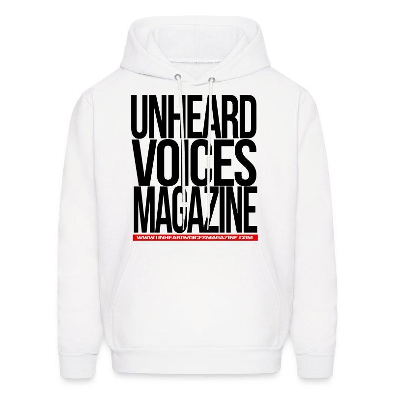 Unheard Voices Magazine Men's Hoodie (Various Colors) - Men's Hoodie