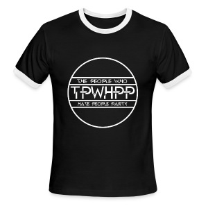 The People Who Hate People Party  - Men's Ringer T-Shirt