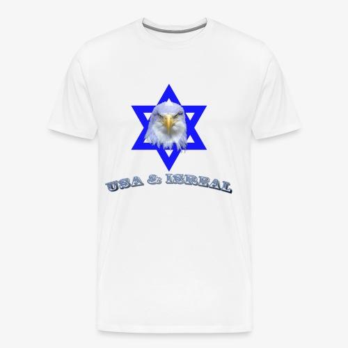 USA & ISREAL - Men's Premium T-Shirt