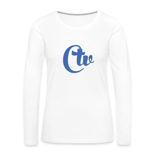 CTVLOGZ LONGSLEEVE T-SHIRT - Women's Premium Long Sleeve T-Shirt