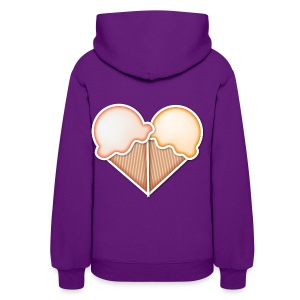 Love Ice Cream Women's T-Shirts - Women's Hoodie