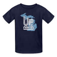 Kids' Shirts ~ Kids' T-Shirt ~ Retro Up North