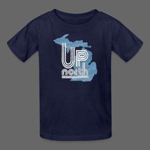 Retro Up North - Kids' T-Shirt