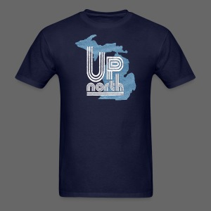 Retro Up North - Men's T-Shirt